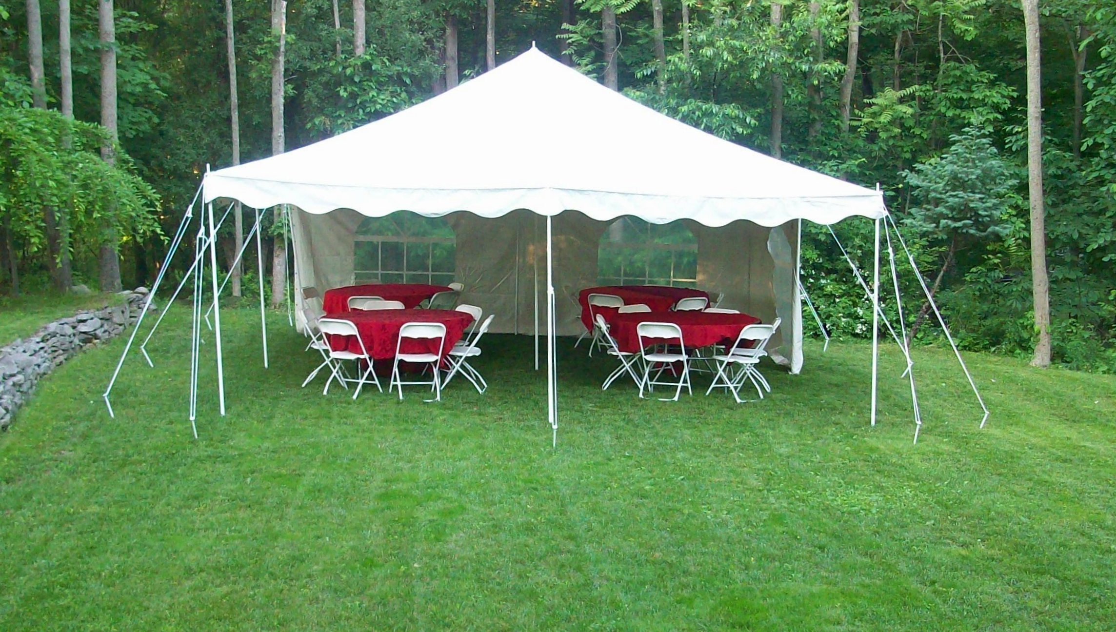 Tent Al Delivery Set Up Parties Weddings Lebanon Pa